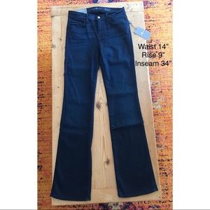 NWT Seven 7 for all Mankind Sz 29 Mid Rise Bootcut